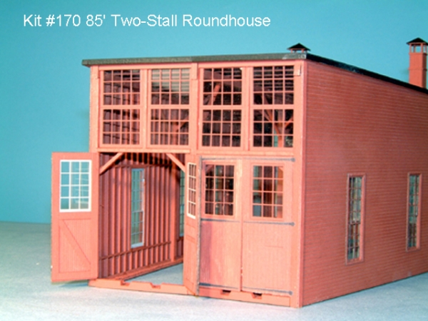 American Model Builders Four-Stall Roundhouse