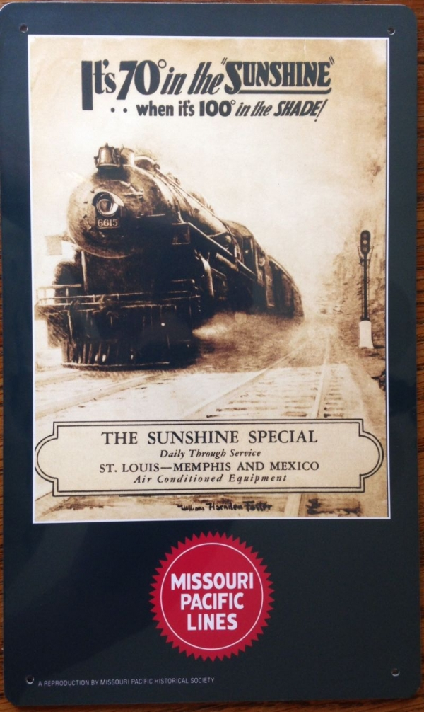 Metal Sign - Sunshine Special